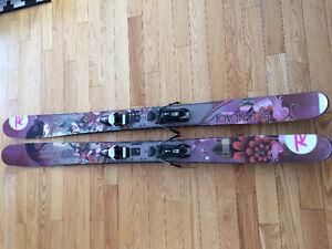 Ski rossignol S110 femme 168 cm+ fixation look NX 10