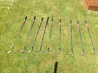 Full set of Mizuno Golf Irons