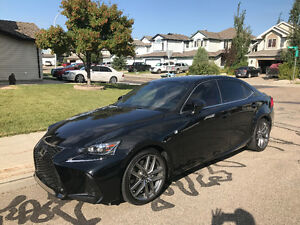 2017 Lexus IS 300 AWD FSPORT SEDAN LEASE TAKE OVER OR PURCHASE
