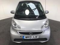 2013 13 SMART FORTWO 1.0 PASSION MHD 2D AUTO 71 BHP