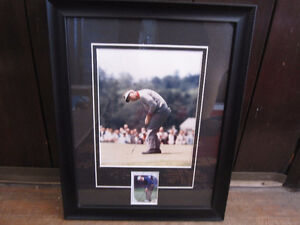Arnold Palmer  Framed 8x10 Golf Photo+Card --MINT