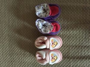 Baby slippers!