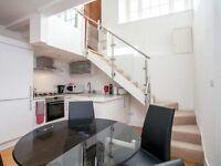 *Stunning ARCHITECTURALLY DESIGNED SPLIT LEVEL 1 BEDROOM SPLIT LEVEL FLAT WITH STUDY