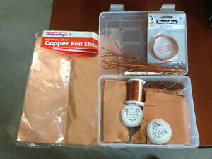 Copper and Silver Jewellery making supplies