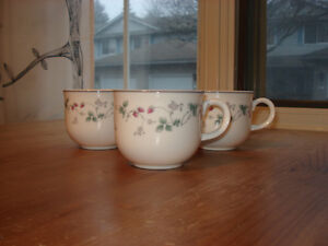 "Royal Doulton  ""Expressions: Strawberry Fayre"" Teacup Set"