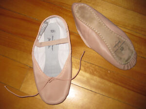 Girls size 13 1/2 ballet shoes