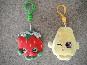 Shopkins Backpack Key Chain
