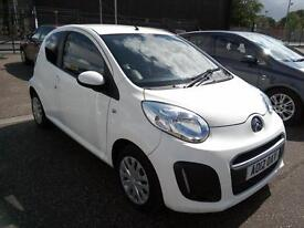 2012 Citroen C1 1.0i VTR Only 38K FREE ROAD TAX AirCon White Low Insurance VGC