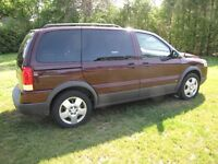 Private deal 2007 Pontiac Montana loaded only 120 000 km