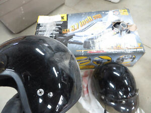 Two helmet