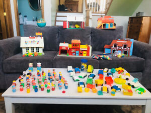 Vintage Fisher-Price collection !
