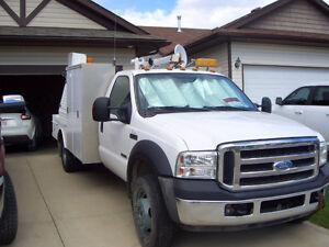 2007 Ford F-550 mechanic truck 142649 km