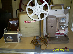 Antique Camera and Projector
