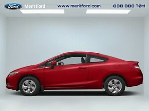 2013 Honda Civic Cpe   - local - trade-in - sk tax paid