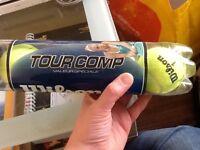 Brand new Tennis balls. 4 in pack.