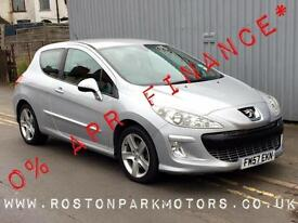 2008 PEUGEOT 308 2.0 HDi Sport 3dr 2YR FREE CREDIT OFFER