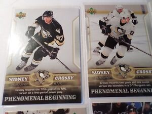 SIDNEY CROSBY HOCKEY CARDS  (7 Cards)   (VIEW OTHER ADS) Kitchener / Waterloo Kitchener Area image 2