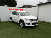 2014 64 VOLKSWAGEN TIGUAN 2.0TDI R-LINE -4X4 177 BHP 4MMOTION BLUEMOTION TECH