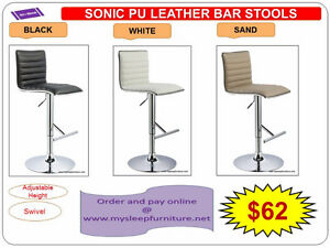 BRAND NEW- BAR STOOLS- acrylic, plastic, leather, Many colors City of Toronto Toronto (GTA) image 9