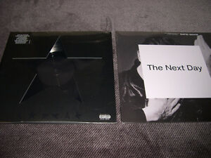 David Bowie - Blackstar & The Next Day (1er pressage les 2)