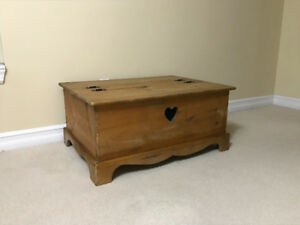 Beautiful Wooden Coffee Table or Chest with Storage