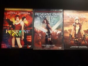 Resident Evil 1,2 and 3 for Sale