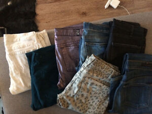 7 pairs of premium denim