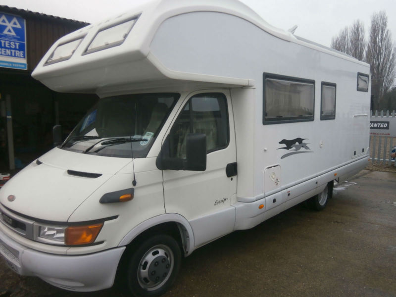 Iveco daily laika motorhome 9 1g in hinckley for Laika camper