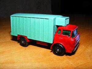 Vintage Lesney Matchbox No 44 Diecast Refrigerator Truck - 1968