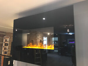 """ELECTRIC FIREPLACE 38"""""""