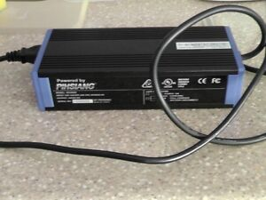 Power wheelchair battery charger