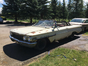 1960 Oldsmobile Dynamic 88 CONVERTIBLE PROJECT car w/parts car !