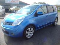 57 NISSAN NOTE 1.6 TEKNA 5DR METALLIC BLUE 1 OWNER