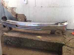 2011 GMC chrome front bumpers