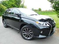 2013 Lexus RX 450h 3.5 F Sport 5dr CVT Auto FLSH! Low Mileage! 5 door Estate