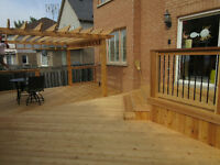 SKILLED DECK BUILDER over 38 years exp