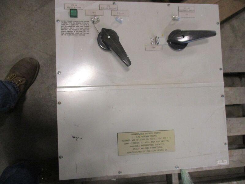 EPC Maintenance Bypass Cabinet