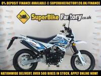 2017 SINNIS APACHE 125 CC, 0% DEPOSIT FINANCE AVAILABLE
