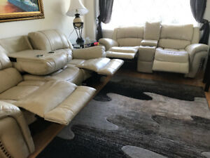 Contemporary Recliner 3 Piece Set-Moving Sale