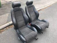 Audi tt half leather heated seats