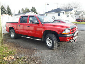 2002 Dodge Dakota V8 4.7L Pickup Truck