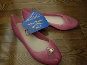 Vivienne Westwood Anglomania + Melissa Wanting flats