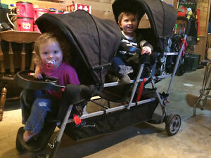 Triple stroller for sale