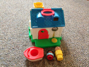 Vintage fisher price cottage house