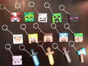Minecraft key chains ~Perfect for Stocking Stuffers!  Windsor Region Ontario image 3
