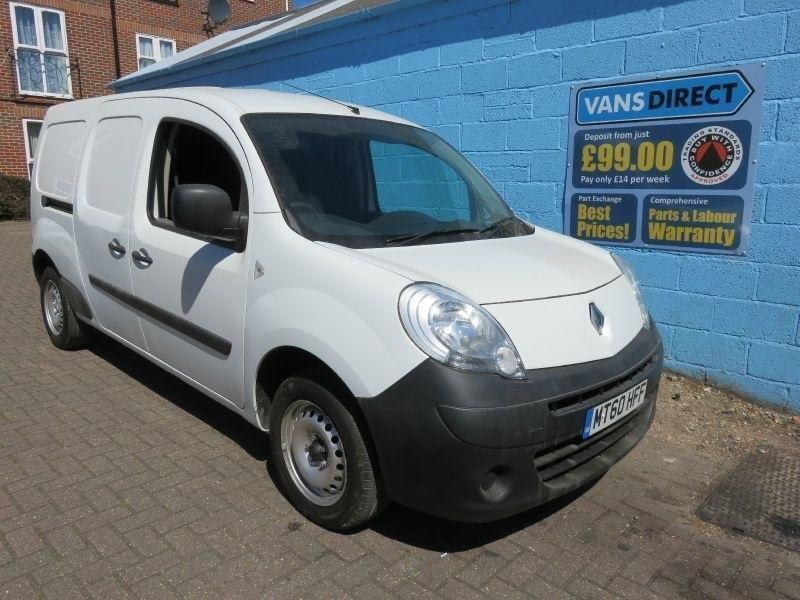 renault kangoo maxi ll21 1 5 dci 85 lwb 1 owner free delivery diesel 2010 60 in southampton. Black Bedroom Furniture Sets. Home Design Ideas