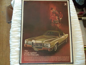 old cadillac classic car framed ads Windsor Region Ontario image 9
