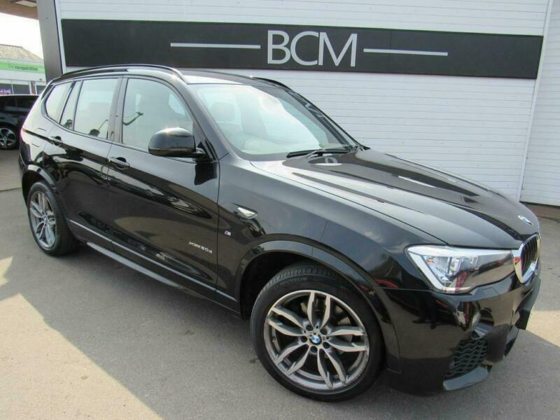 2015 Bmw X3 2 0 20d M Sport Xdrive 5dr Diesel Black Manual