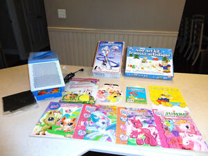 Sno Art Kit, Penguin Racer and  8 Activity Coloring Books