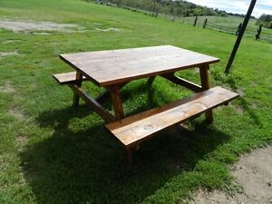 Picknic table